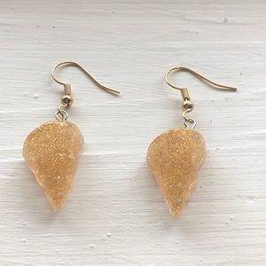 Seashell Earrings Coronado Tulip Shell
